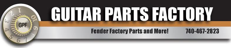 Guitar Parts Resource. The Guitar Player's Hardware Store! Fax: 740-467-3245