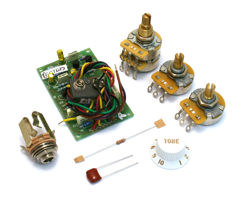 Guitar Parts Factory Genuine Fender Strat Mid Boos Kit Eric Clapton Stratocaster Wiring Diagram 005 7577 000 Width 25db