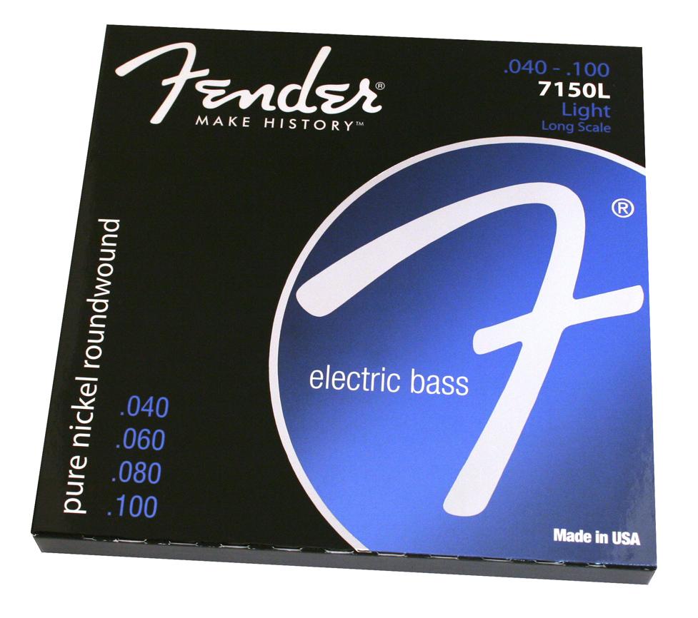 Fender 72505M NPS Long Scale 5-String Set for Bass Medium 073-7250-456