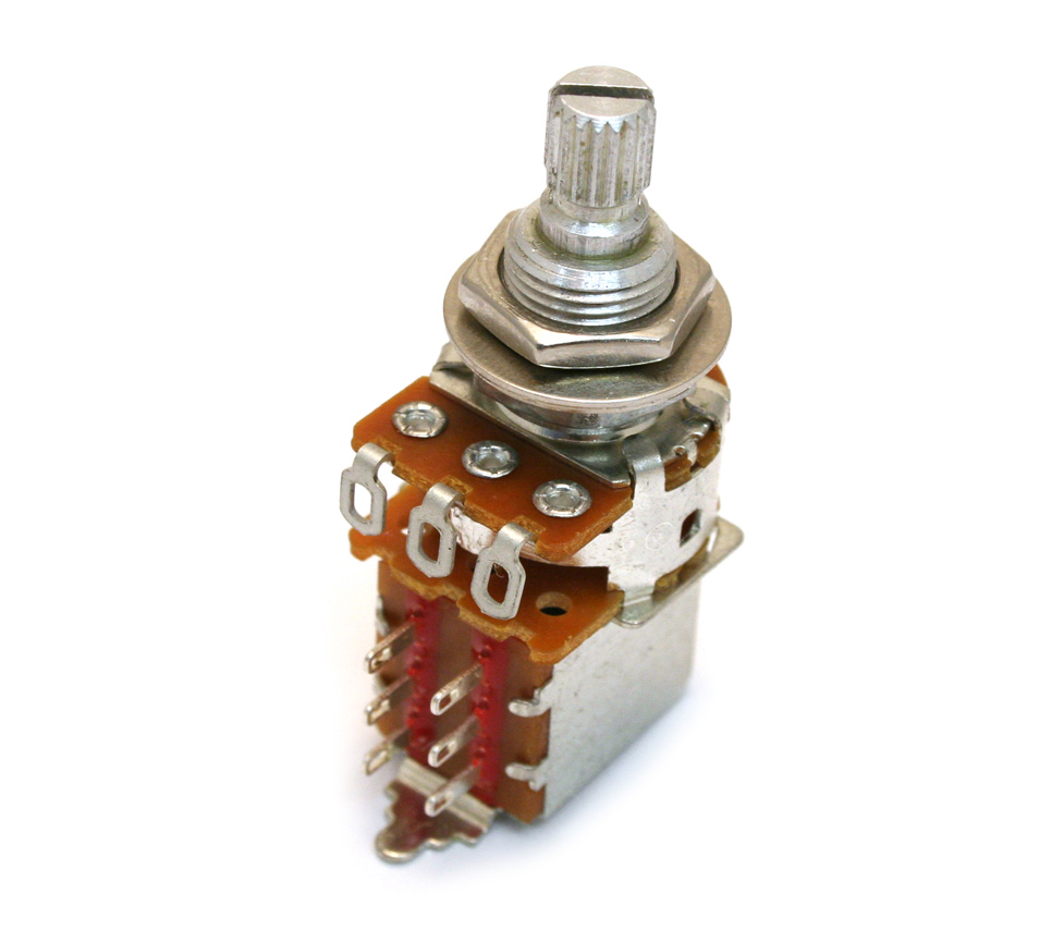 Guitar Parts Factory - Fender Potentiometers