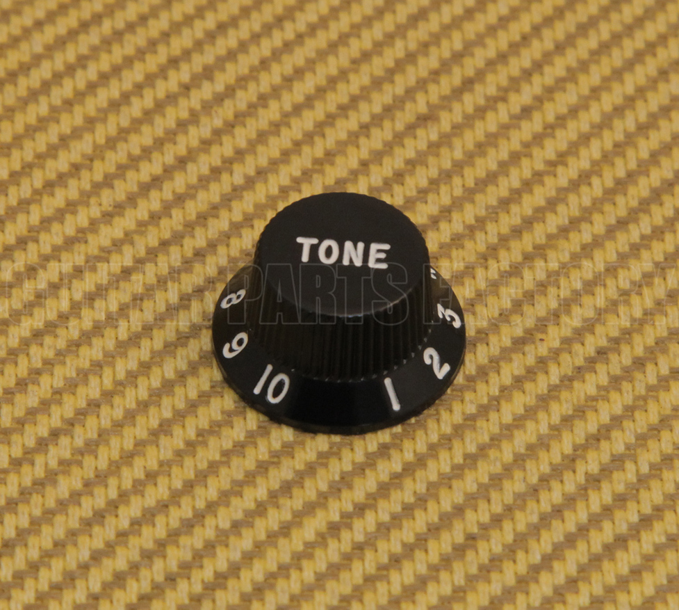 "Black Vintage Style Knobs for Fender USA Jazz Bass® 1//4/"" Solid Shaft PK-0174-023"
