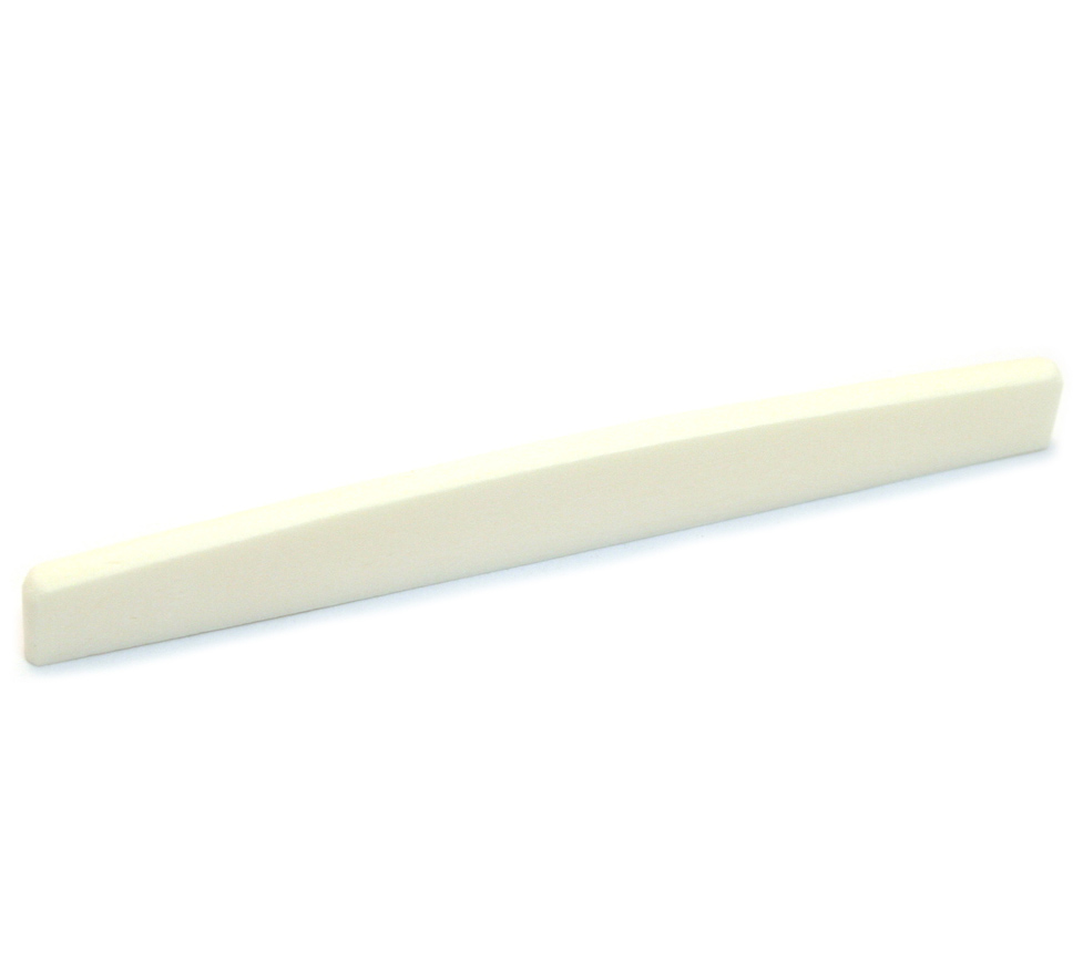 Premium Compensated Bone Saddle 74mm x 9mm x 3mm for Acoustic Guitars