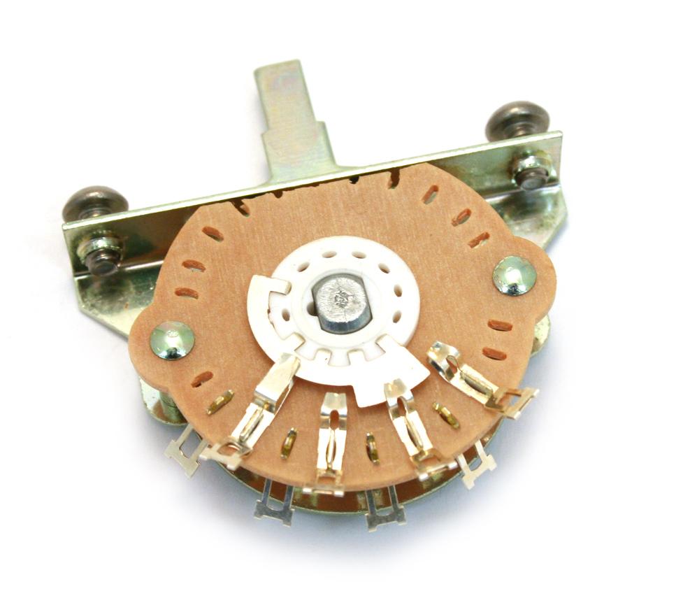 4-way MOD Pickup Switch for Fender Tele Telecaster® w//Black Round Tip SW-L4