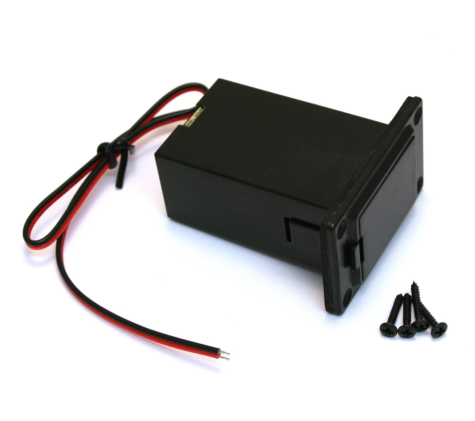 Guitar Parts Factory - Battery Bo on 9 volt battery terminal, 9 volt power supply, 9 volt battery cover, 9 volt switch, 9 volt speaker,