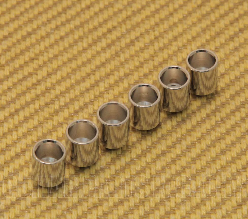 "6 Gotoh Black 5//16/"" String Body Ferrules Fender Telecaster//Tele AP-0087-003"
