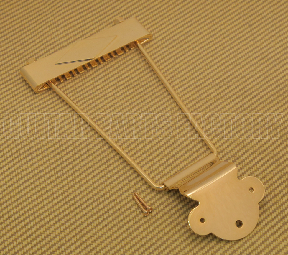 NEW 12-String Trapeze Tailpiece GOLD