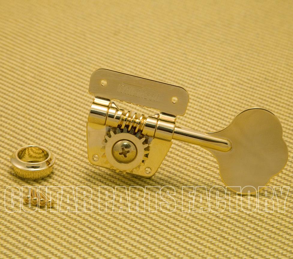 1 NEW Wilkinson Bass Side Bass Tuning Key 20:1 Gear Ratio CHROME