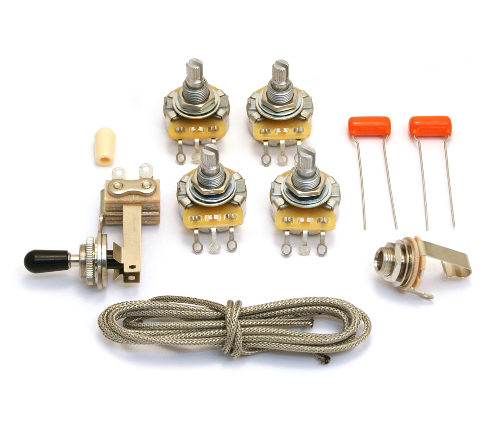 guitar parts factory wiring kits for gibson. Black Bedroom Furniture Sets. Home Design Ideas